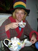 The yellow-blond Madhatter Tea Party - 2002 - Photo by Cyn