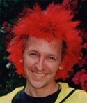 That is not a wig - it's Manic Panic firehouse red - 2001 - photo by Hottie Cyn